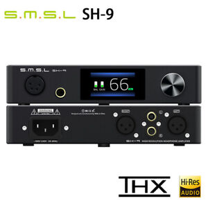 SMSL SH-9 THX AAA AMP RCA/XLR Input 6.35MM Balanced Headphone Amplifier SH9