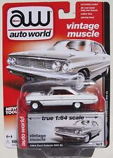 AUTO WORLD VINTAGE MUSCLE 1964 FORD GALAXIE 500 XL #5 RELEASE 5 A