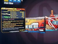 PS4-Xbox-PC Borderlands 3 Level 65 Modded Anarchy XL