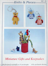 4 Ply Crocheting & Knitting Patterns Toys