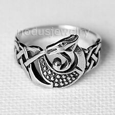 Dragon ring, unisex jewelry, dragon celtic ring, 925 sterling silver