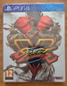 STREET FIGHTER V 5 Steelbook Limited Edition PS4 Brand New & Sealed PAL