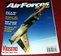 Air Forces Monthly Magazine 1997 January RAF Puma,Falklands,Oregon ANG,Vjasma