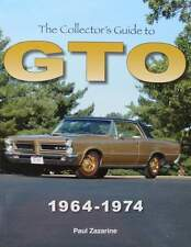 LIVRE/BOOK : PONTIAC GTO 1964 - 1974 (voiture de collection,oldtimer,muscle car