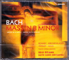 Seiji OZAWA: BACH Messe h-moll Mass in B Minor 2CD Bonney Kirchschlager Ainsley