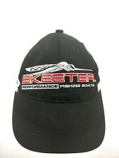 Skeeter boats RICHARDSON KRYPTEK BLACK FLAT BRIM HAT CAP MESH BACK