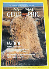 NATIONAL GEOGRAPHIC MAY 1988 WOOL KERALA INDIA SUPERNOVA PERSIAN GULF FLEAS STAR