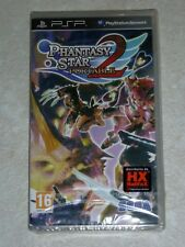 PSP PHANTASY STAR 2 PORTABLE NUOVO PAL ITA