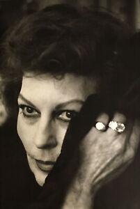 1984 Vintage AVA GARDNER Movie Actress By HELMUT NEWTON Cinema Photo Art 11X14