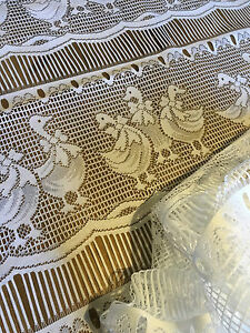 French Embroidered Polycotton Lace Display Panel