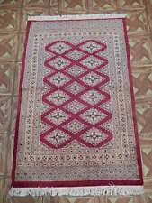 (32 x 47 in) 3' x 4' Vibrance Candy Apple Sarooq Hand-Knotted Rug