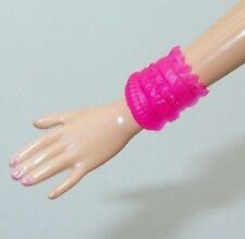 Barbie Jewelry Glam Party Night Lea Doll Clear Pink Cuff Bracelet Only 2015