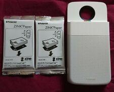 Moto Mod Polaroid Insta-Share Printer with Zink Paper