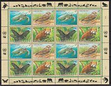 UNO Wien 1998 postfrisch MiNr.  248-251  Gefährdete Arten