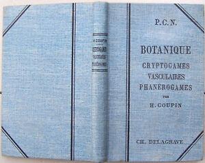 BOTANIQUE Henri COUPIN 1898 cryptogames & phanérogames 101 fig. TBE nature