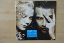 "Pierre Cosso & Nikka Costa Autogramme signed Maxi-Cover ""Don´t Cry"" Vinyl"