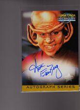 Star Trek DS9 MFTF A9 Aron Eisenberg auto card #2