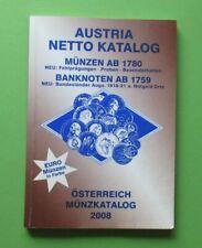 Austria Münz Katalog 2008 , stark gebraucht - mit Markierungen MK32825