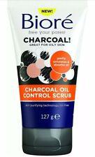 Biore Charcoal Anti Blemish Scrub for Oily and Acne Prone Skin, 127 g