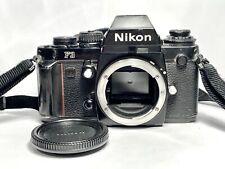 Reflex argentique PRO NIKON F3 35mm Film SLR + BOUCHON/SANGLE/PILES/OILLETON