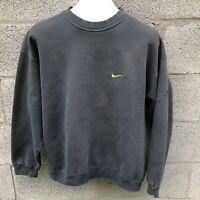 Vintage Nike Green Embroidered Swoosh Pullover Sweatshirt Travis Scott L Large