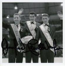 Manfred Schnelldorfer (GER) 1.OS Innsbruck 1964 original signiert/signed !!!