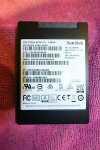 "SANDISK 128GB 2.5"" SSD SATA3 Solid State Drive SD7SB3Q-128G-1006 PC Mac Linux HP"
