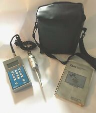 Bently Nevada TK81 Handheld Tunable Vibration Meter+ Velocity Seismoprobe Sensor