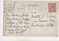 Master Jackie Wilson Queens Road Tunbridge Wells 1919 377b