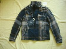 Nwt New Abercrombie & Fitch AF Boys Kids Upper Hudson Plaids Coat Jacket XLWarm