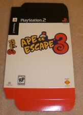 Playstation Ape Escape 3 promotional display box RARE nice condition