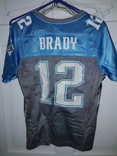 Tom Brady New England Patriots NFL Pats Reebok Vintage football Jersey Womens M