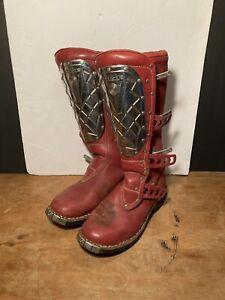 Vintage Motocross Skywalk AlpineStars Boots