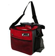 Innova Golf Discs Starter Golf Bag, Red/Gray Holds 8- 10 Discs Bottle Holder