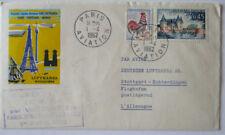 LUFTHANSA erstflugbrief Paris Munich 1962 (46948)