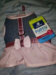 Top Paw Dress Harness Xsmall Puppy dog