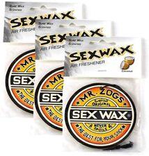 Sex Wax Air Freshener (3-Pack, Coconut)