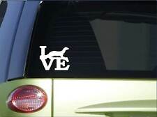 "Ferret love sticker *H166* 6"" vinyl harness decal"
