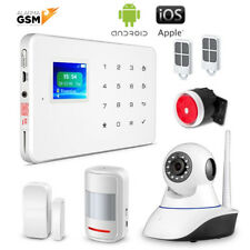 G-18 GSM alarm Home or Business with no monthly fees voice in spanish with ip camera