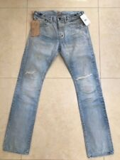 PRPS Japan Men Jeans P79P07P Demon Gulf Very Light VRL size 40 NWT $575