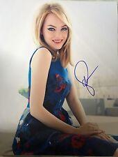 Emma Stone Signed Photo 11x14