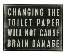 Vintage Bathroom Sign Wall Art Retro Rustic Home Decor Perfect Gift NEW Funny US