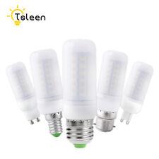 110V 220V E27 B22 G9 Ultra bright 5730 SMD LED Bulb Light Corn Lamp Milky White