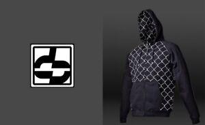 Do or Die Caged Zip up Hoodie Black Size XL New in Package