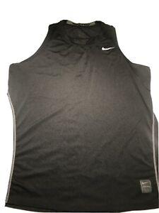 Nike Pro Men's Black Sleeveless Dri Fit Shirt Size Large