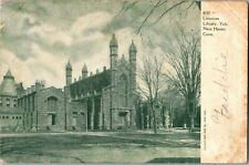 Linonion Library, Yale University New Haven CT UDB Vintage Postcard O17