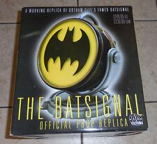 The BATSIGNAL OFFICIAL PROP REPLICA 2001 DC Direct Statue Batman COA NiB