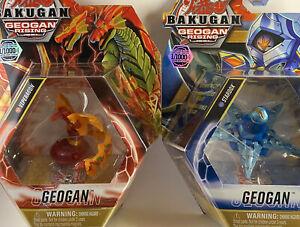 VHTF Bakugan Geogan Pyrus Viperagon Aquos Stardox LIMITED EDITION 1/1000