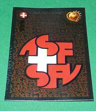 N°137 SUISSE SCHWEIZ SVIZZERA BADGE PANINI FOOTBALL UEFA EURO 2004 PORTUGAL