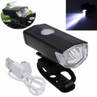 800LM USB Rechargeable Bike Front Head Light Cycling Bicycle LED Lamp 3 Modes KY